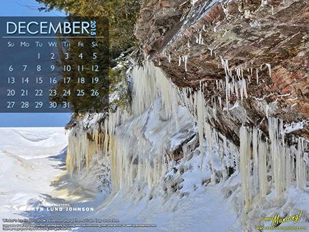 Au Train Ice calendar photo