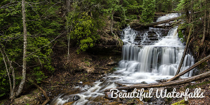 Munising waterfalls