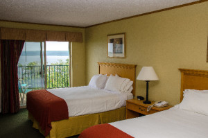 hotel with Lake Superior view