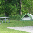 Pictured Rocks camping