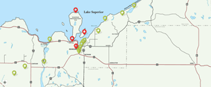 Picture Rocks Michigan Map.Downloads Maps Monthly Calendars Explore Munising