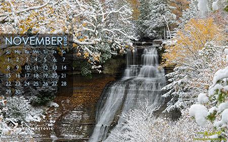 free november calendar