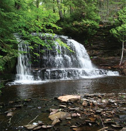 Michigan Waterfalls Munising Grand Marais Explore Munising