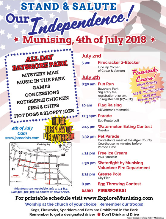 Munising Fourth of July