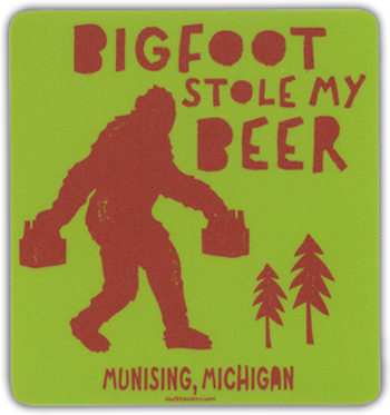 Bigfoot Stole My Beer