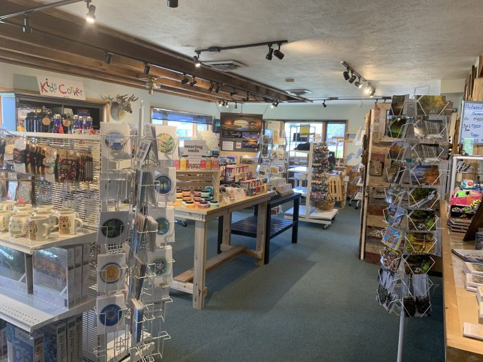 Munising Visitor Center featuring gifts and local information