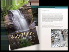 MI Waterfalls Guide book