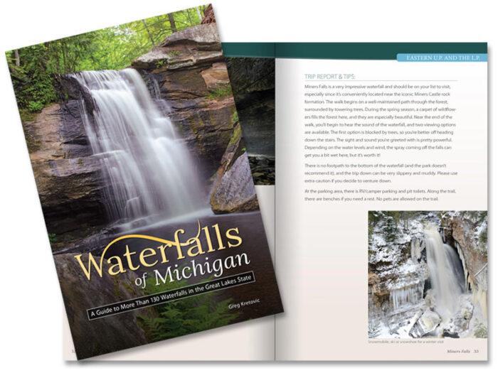 MI waterfalls book